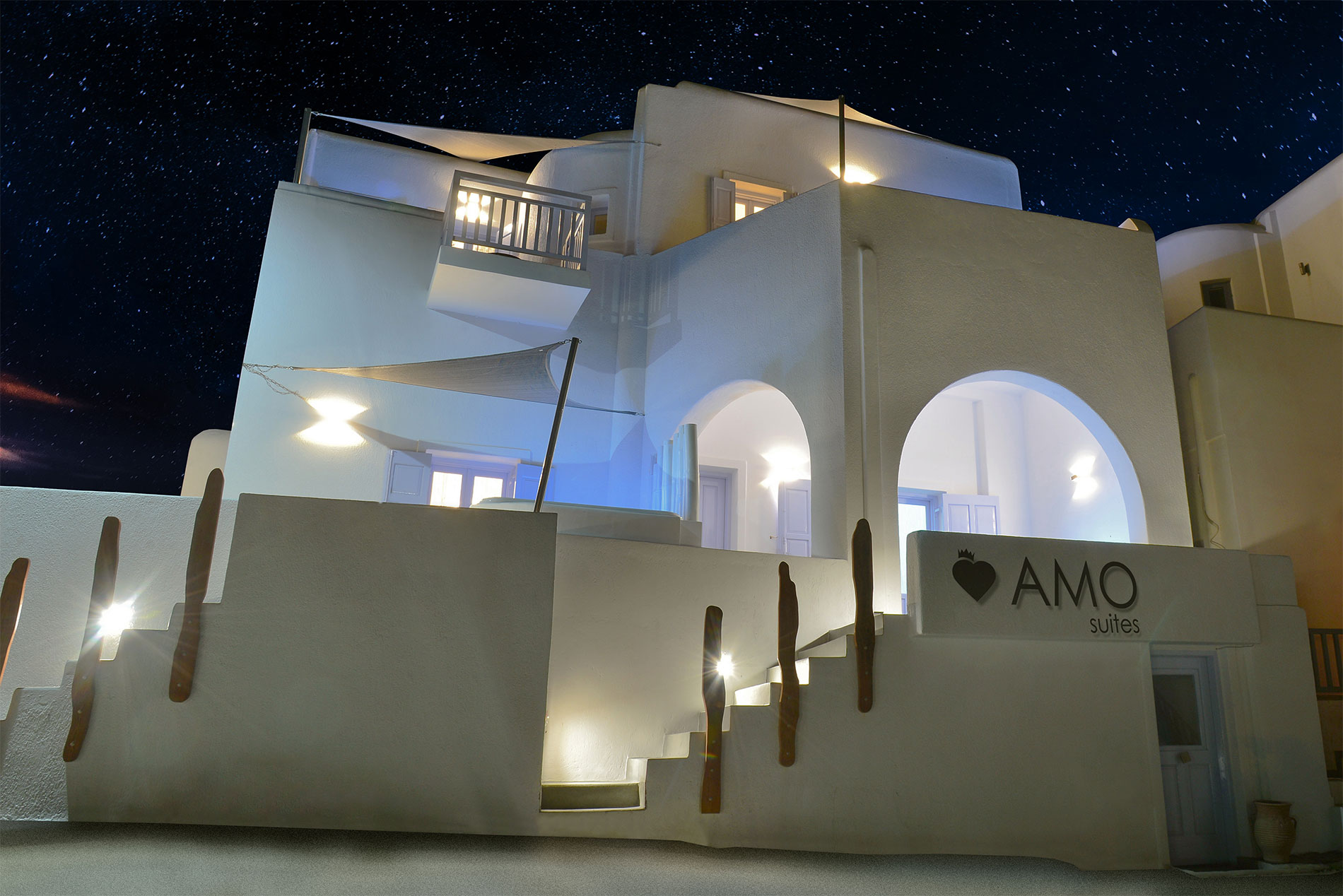Amo Suites - Folegandros - Exterior views